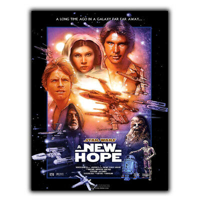 METAL SIGN WALL PLAQUE Star Wars: Episode IV - A New Hope print poster