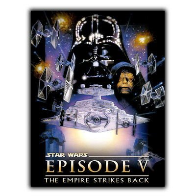 Star Wars Episode V The Empire Strikes Back METAL SIGN WALL PLAQUE poster print