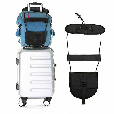 Travel Luggage Suitcase Adjustable Belt Add A Bag Strap Carry On Bungee Hot
