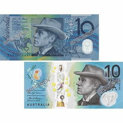 2017 RBA Two Generations of $10 Unc Notes Pair In Folder