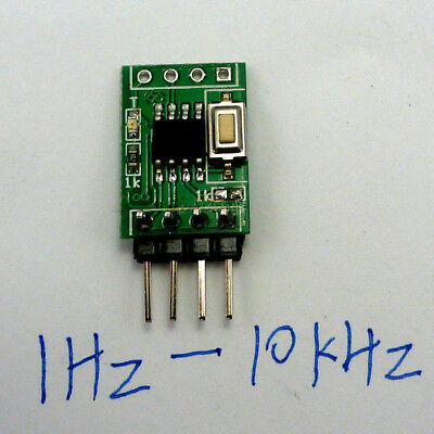 1H~10kHz Continuously Adjustable Signal Generator replace NE555 LM358 CD4017 DDS