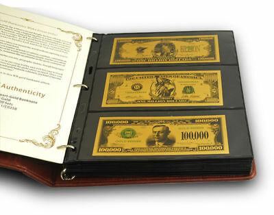 WR 90X Different World MIX Foreign GOLD Banknotes Paper Money Lot Collection 24K