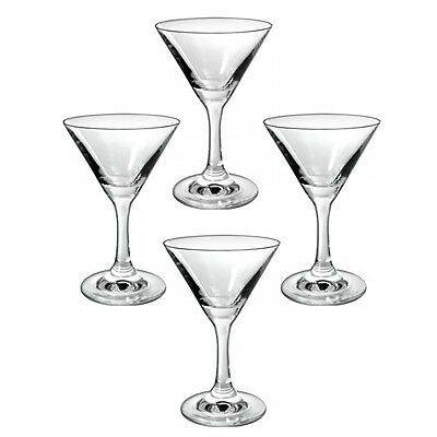 New Bartenders Choice Set of 4 8oz 250ml Martini Cocktail Entertaining Glass