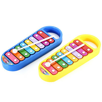 Steel Xylophone Hand Knocking Piano Musical Instrument Wisdom Development Toy