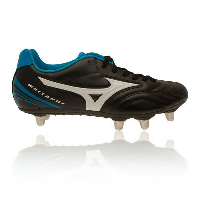 Mizuno Waitangi CL Mens Blue Black Water Resistant Rugby Boots Sports Shoes