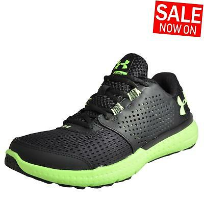 Under Armour Micro G Fuel Men's Running Shoes Fitness Gym Trainers Black