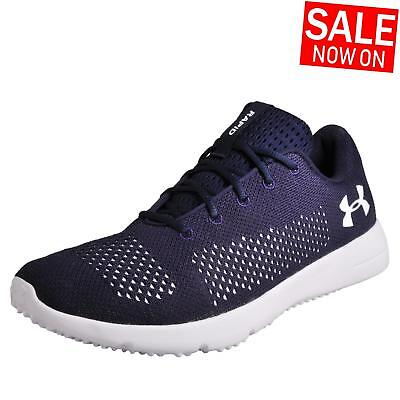 Under Armour Rapid Mens Running Shoes Fitness Gym Workout Trainers Navy