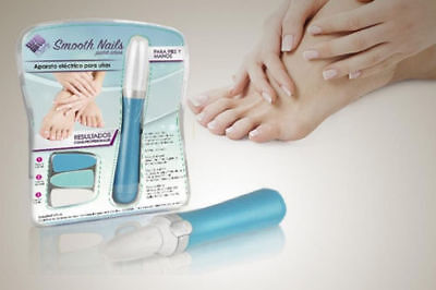 Lima Uñas Smooth Nails Pies Manos Manicura Pedicura Limar Calidad Garantia