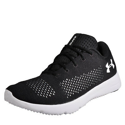 Under Armour Rapid Mens Running Shoes Fitness Gym Workout Trainers Black