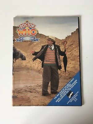 Doctor Who Marvel Monthly Magazine Special 1993 30th Anniversary