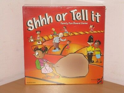 Shhh Or Tell It - Family Board Game Brand New/sealed