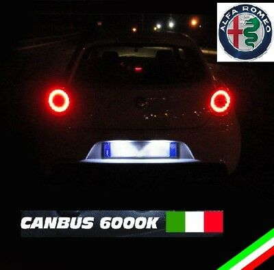 Kit Full Led Interni Alfa Romeo Mito Conversione Completa + Led Targa