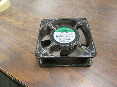 Sunon Axial Fan SP100A 115V 50/60Hz 0.26/0.24A Used