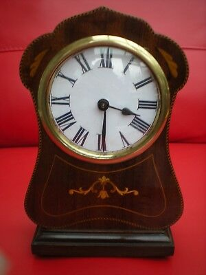 antique french case drum mantle clock