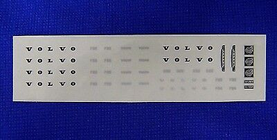 1:50 Scale Volvo Sticker Set.F84, F85, F86, F88, F89 * Brand New * Tekno, Wsi