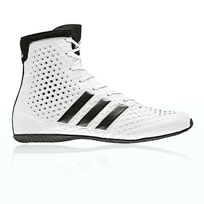 Adidas KO Legend 16.1 Mens Womens White Training Boxing Shoes Trainers