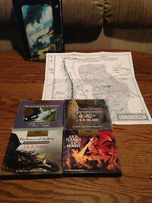 J.R.R. Tolkien Gift Set 17 Audio discs CDs With Map Of Middle Earth