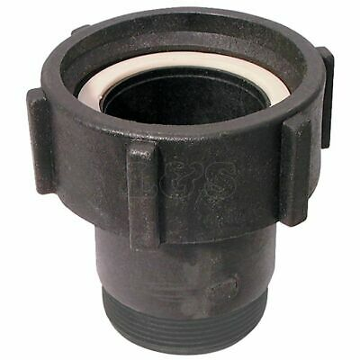 "Swivel Hose Tail Coupler for IBC Containers - S60x6 Female to 1"" BSP"