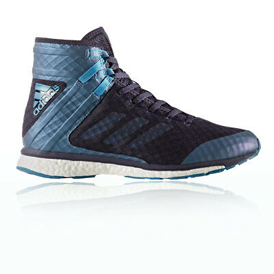 Adidas Speedex 16.1 Boost Mens Blue Boxing Sports Shoes Boots