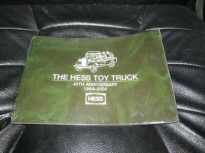 hess toy truck 40th anniversary book