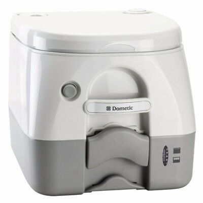 Dometic 966 Portable Chemical Toilet Beige - Campervans Camping
