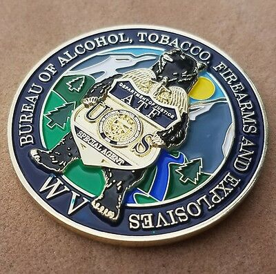 West Virginia ATF challenge coin