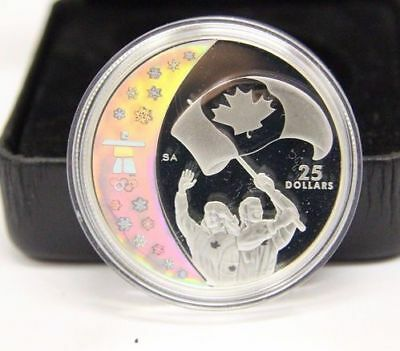 Vancouver 2010 Royal Canadian Mint Sterling Silver - Athletes' Pride