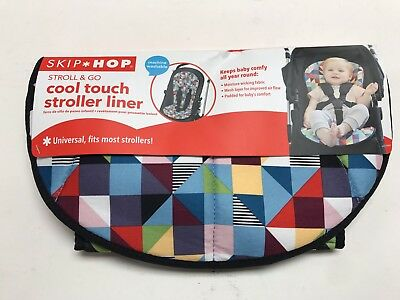 On-The-Go Cool Touch Stroller Organizers Liner, Prism