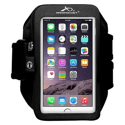 Armpocket Mega i-40 armband for iPhone 7/6s/6 Plus, Galaxy S8+, Note 5/4, Google