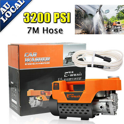 3200PSI  High Pressure Water Cleaner Washer Electric Pump Hose Gurney