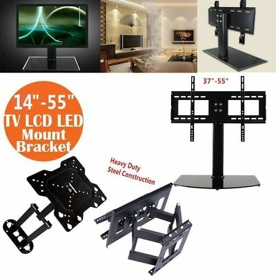 TV Stand/Base for LCD/LED/Plasma TVs Tabletop Stand Universal US STOCK H