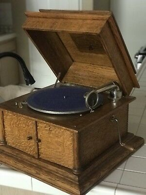 Handsome Columbia Grafonola Phonograph Player with Free Extra Needles!!