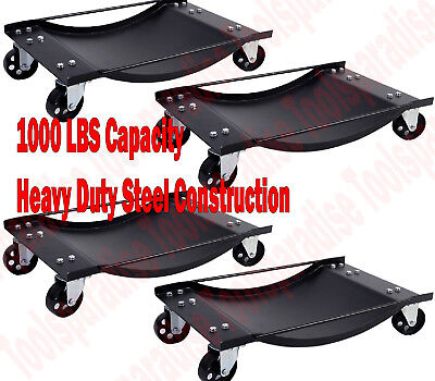 Auto Wheel Tire Platform Storage Rolling Dolly Swivel Caster