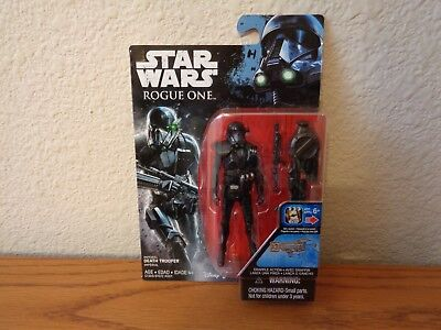 """Star Wars Rogue One Death Trooper 3.75"""" Action Figure Wave 3"""
