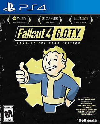 * New Sealed * Fallout 4: Game of the Year Edition  Sony PlayStation 4 ps4  GOTY