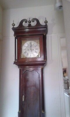 Harringworth Richard hacket long case clock.1760.