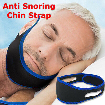 Anti Snoring Jaw Chin Strap Sleep Device Support Stop Snoring Solution Extra Big