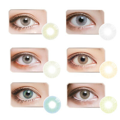 Big Eyes Colored Contacts Lenses Cosplay Party Club Makeup Circle Lens Con Clase