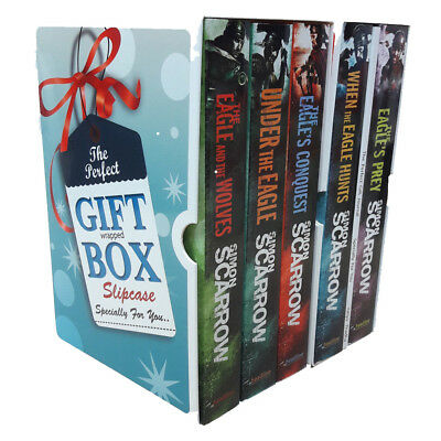Eagles of the Empire Simon Scarrow 5 Books Collection With Journal Gift Wrapped