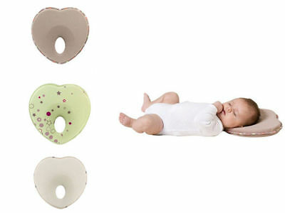 Anti Roll Neck Newborn Support Infant Baby Flat Head Memory Foam Pillow Prevent
