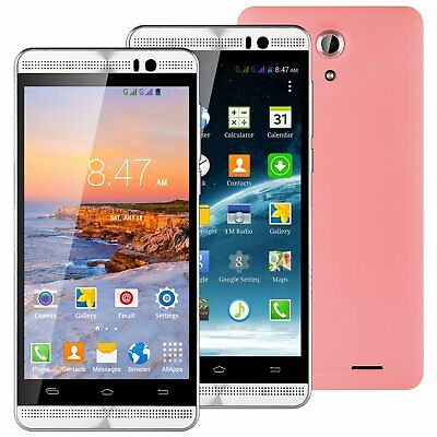 "5"" XGODY Quad Core 3G/2G Unlocked Android Smartphone 8GB 2SIM Mobile Phone GPS"