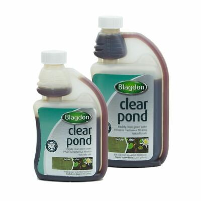 Blagdon Clear Pond - Aids Filter & Clears Cloudy Ponds 250ml 500ml 1 litre