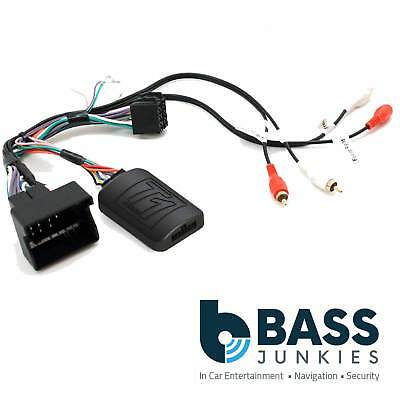 T1 Audio T1-AD2 Audi A3 A4 TT Steering Wheel Interface Adaptor FREE PATCH