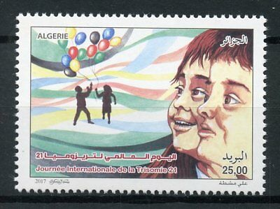Algeria 2017 MNH World Down Syndrome Day 1v Set Medical Health Stamps