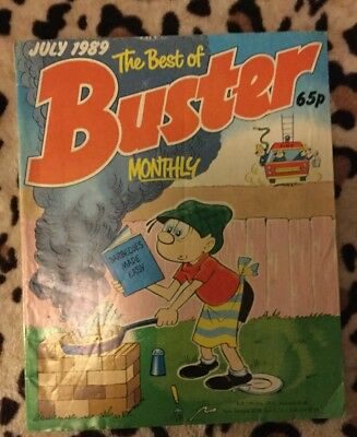 The best of BUSTER Monthly Comic - Date 07/1989  vfn-