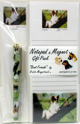 New Papillon List Pad Note Pad Magnet & Pen Stationery Gift Pack By Ruth PAP-3
