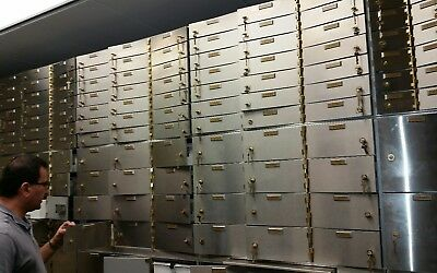 Diebold Bank Safety Deposit Box, safety nest