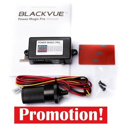 BlackVue Vehicle Battery Discharge Prevention for Parking Mode Multi-Booting HQ