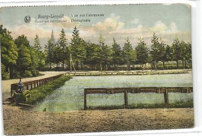 1 old postcard Camp Beverloo drinkplaats