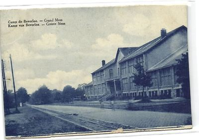 1 old postcard Camp Beverloo groote mess 1930